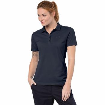 Jack Wolfskin Pique Polo Kadın T-Shirt 1805701