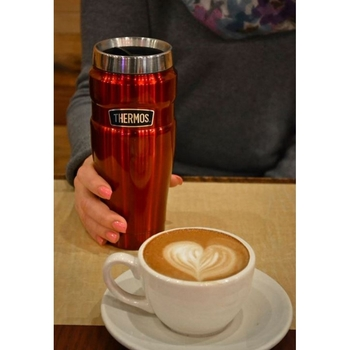 Thermos Stainless King Handle 0.47 Lt. Travel Mug  SK1000