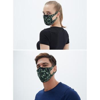 Black Spade Sentetik Örme Kumaş Yıkanabilir Unisex Maske 90021
