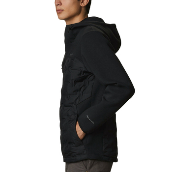 Columbia Tech Trail Hybrid Hoodie Erkek Polar AO0771