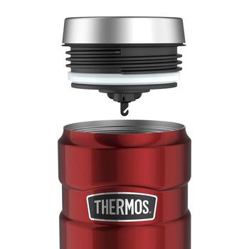 Thermos SK 1005 Çelik Mug Termos 470ml. Kırmızı 192448-AK